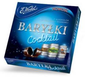 Wedel Barylki Cochtail / Pralines met alcohol